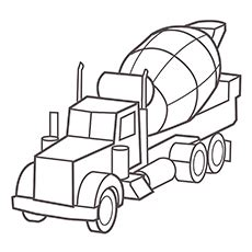 Top 25 Free Printable Truck Coloring Pages Online Coloring Page Big Planet