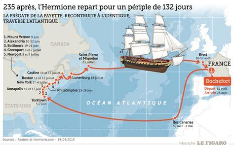 pr 233 voyez l arriv 233 e du voilier hermione 224 new york le 04 07 15 - Hermione Bateau Trajet