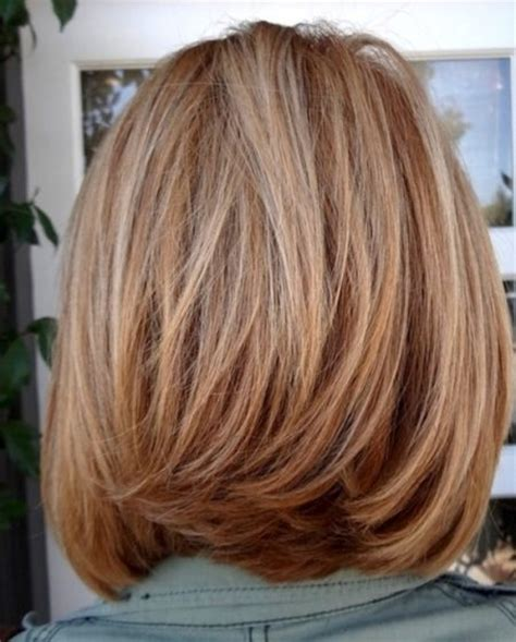 wedding hairstyles front and back views u layered haircut back view