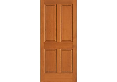 Douglas Fir Interior Doors 4 Panel Vertical Grain Douglas Fir Interior Door Eto Doors