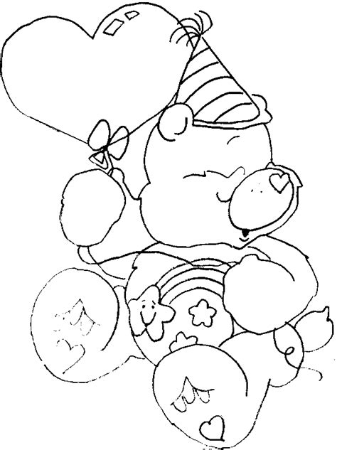 care bear coloring pages pdf the care bears coloring pages az coloring pages
