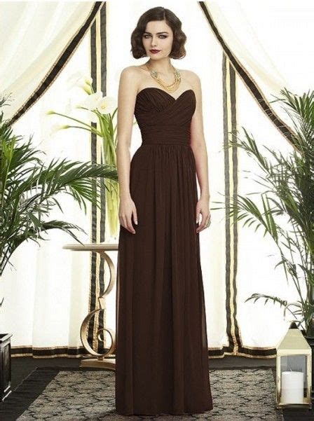 The Litte Brown Dress Project by Brown Bridesmaid Dresses Dresses