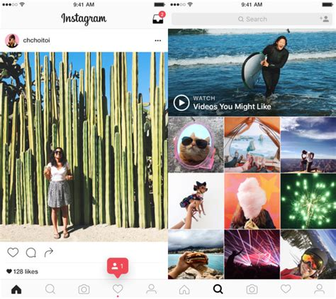 this is what your instagram app might look like soon instagram update iphone app has a brand new look bgr