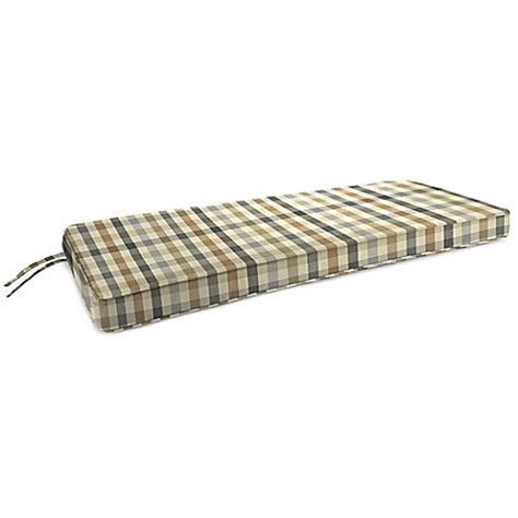 48 inch bench cushions 18 inch x 48 inch 2 person bench cushion in sunbrella