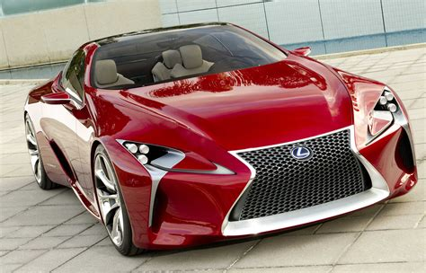 lexus concept sports car norcalcars 187 lexus lf lc debuting at 2012 detroit auto show