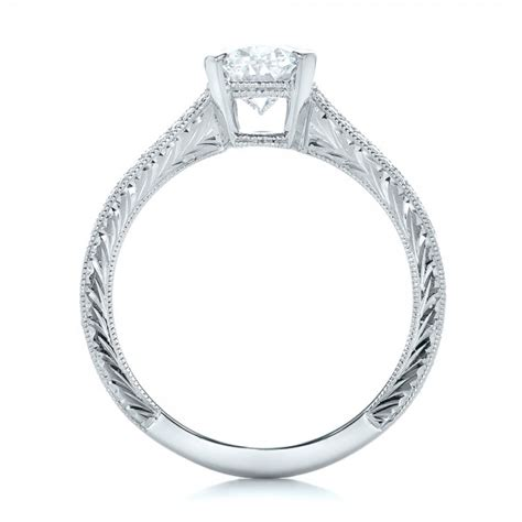 custom oval engagement ring 102214
