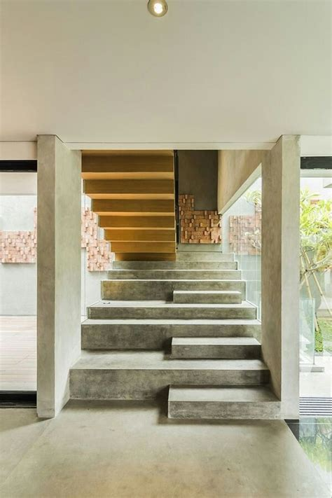 Interior Concrete Stairs Design Carlo Scarpa Formidable Mag Architecture