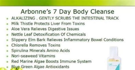 Arbonne Seasource Detox 7 Day Cleanse by Arbonne S Gentle 7 Day Cleanse And Detox Now Available In