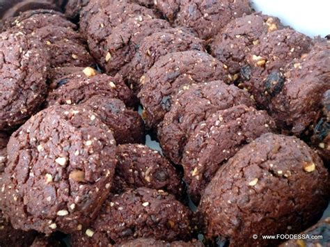 Almondtree Chocolate Cookies chocolate nut beet cookie no egg recipe by cookeatshare