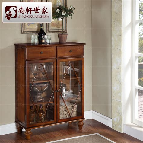 Wine Glass Cabinets Furniture by Fashion Small Wood Wine Cabinet Brief Lockers Console