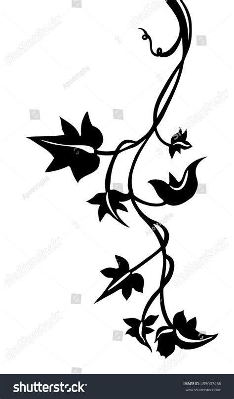 ivy vine silhouette www pixshark com images galleries