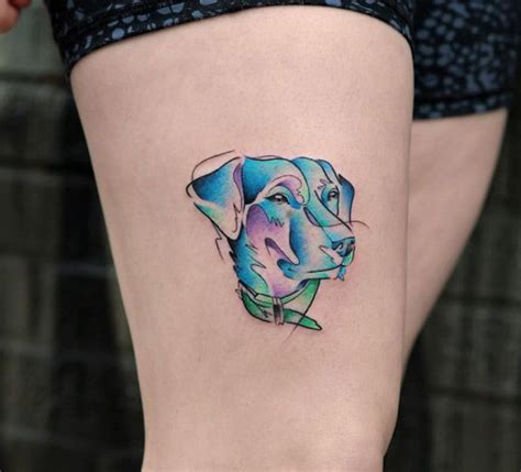watercolor tattoo georgia 40 best images about tattoos on amazing dogs