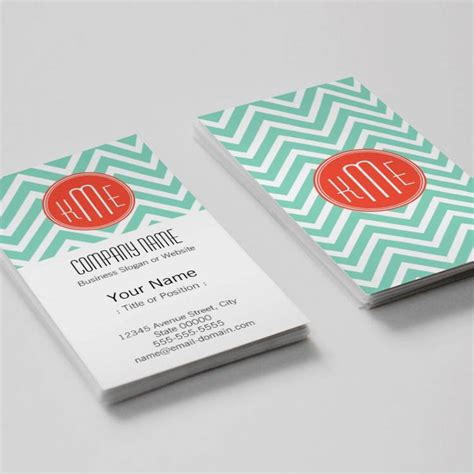 free monogram business card templates modern interior design wood grain texture business cards