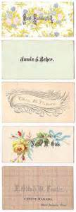 business card vintage craft fasion design inspiration waking lucia
