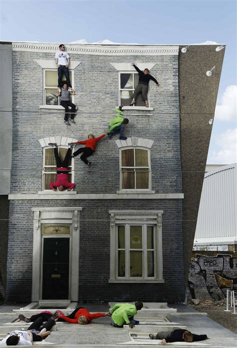 art for house mirrored house illusion dalston house art pops up in