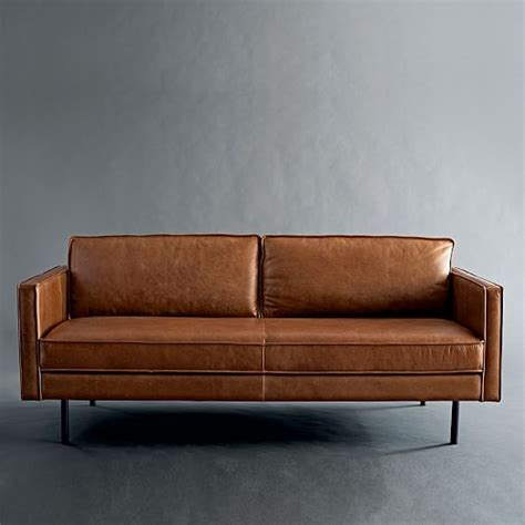 elm leather sofa axel leather sofa 89 quot elm