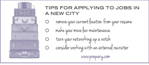 Tips For Applying For City Of Seattle Tips For Applying For In Another City The Prepary