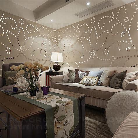 bedroom hair diy pastoral 3d flower wall sticker living room girl room