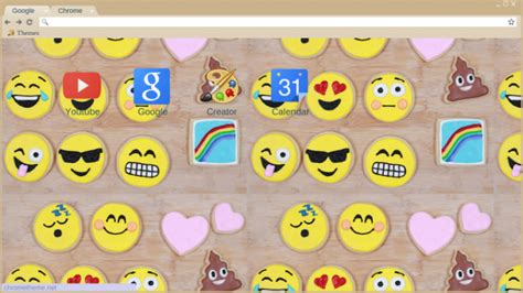 Emoji Themes For Google Chrome | emojis chrome theme themebeta
