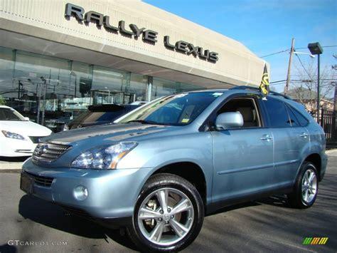 blue lexus rx 2008 breakwater blue metallic lexus rx 400h awd hybrid