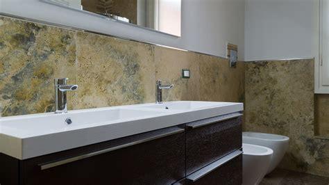rivestimento bagno travertino piastrelle bagno travertino marmo e design rivestimenti
