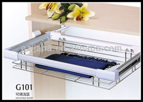 Wire Basket Drawers For Wardrobes by Pull Out Drawer Wire Basket For Wardrobe Buy Pull Out