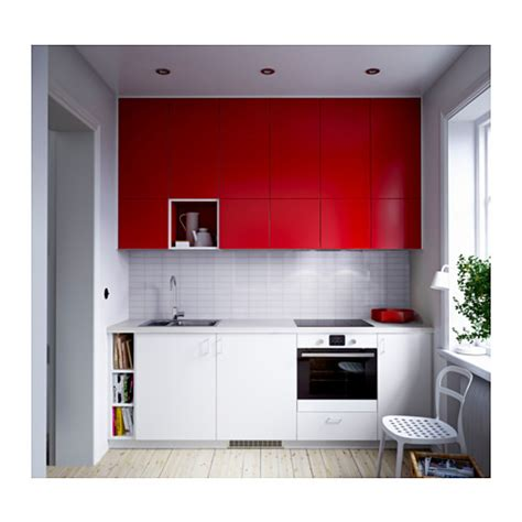 new for 2010 ikea kitchens fastbo wall panels 187 ikea fastbo wall panel double sided red tile pattern white