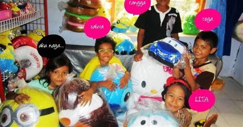 Ukir Nama Boneka Minion Jumbo 65cm toko boneka lucu jual harga murah panda beruang