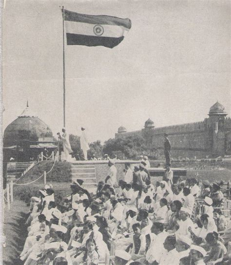 indian independence 1947 flags and stamps indian independence and flag hoisting