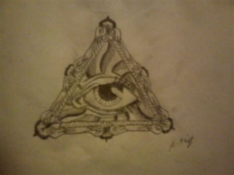 all seeing eye tattoos designs