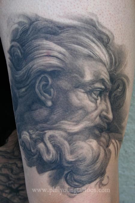 michelangelo s god healed tattoo by phil young tattoo