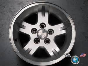 one 04 06 jeep wrangler factory 15 quot wheel oem 15x8