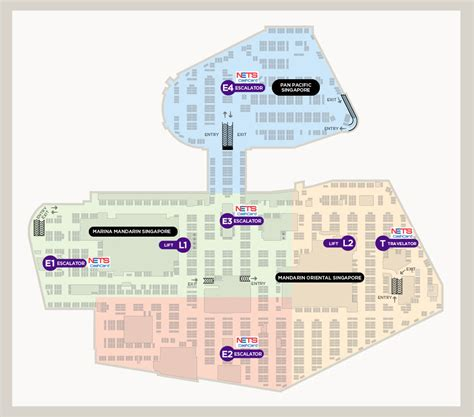 layout of square one mall marina square directions parking