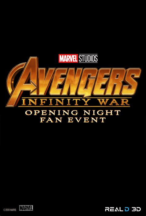opening night fan event star wars opening night fan event avengers infinity war at an amc