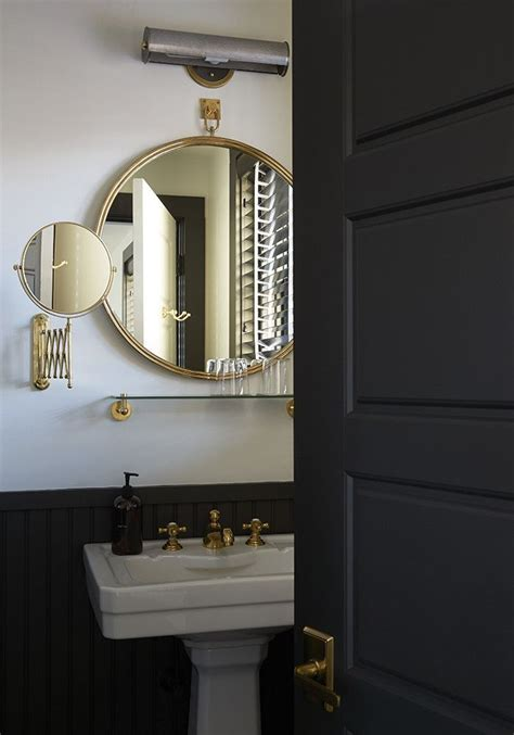 black gold bathroom black and gold bathroom i like it pinterest
