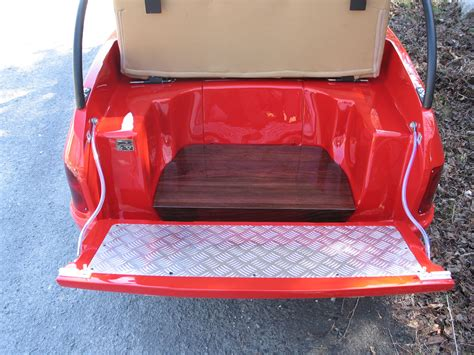 golf cart rear seat folding footrest custom golf carts porsche golf cart golf cart