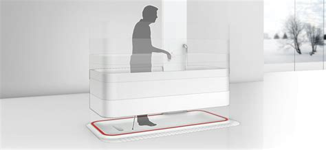 roll in bathtub elevated bathtub the roll in bathtub concept