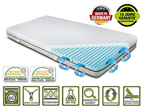 matratzen made in germany verstellbare lattenroste und weitere matratzen