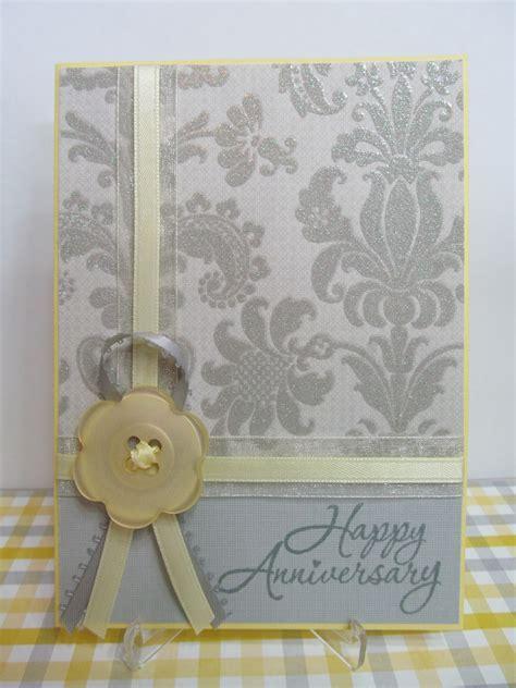 Savvy Handmade Cards: Handmade Anniversary Card