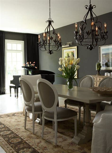 dark gray dining room gray interior design ideas for your home