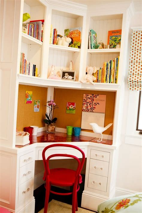 Built In Corner Desk Ideas Small Built In Corner Desk
