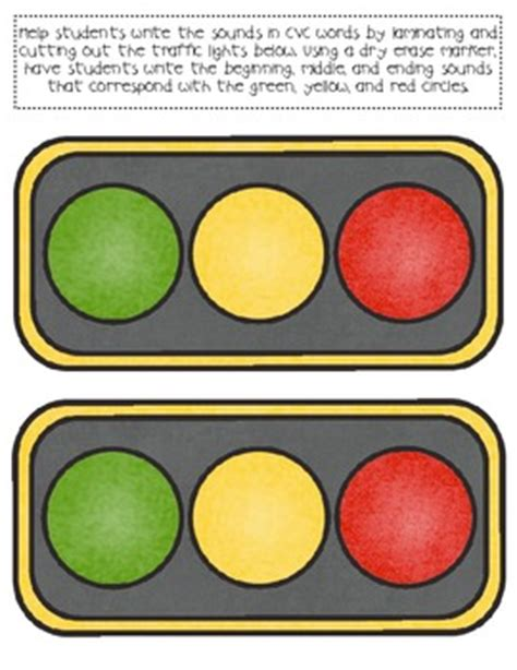 light cvc traffic light cvc word cards by readingresourcedotnet tpt