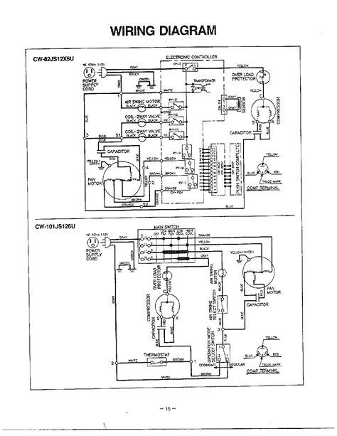 panasonic window type aircon wiring diagram wiring diagram