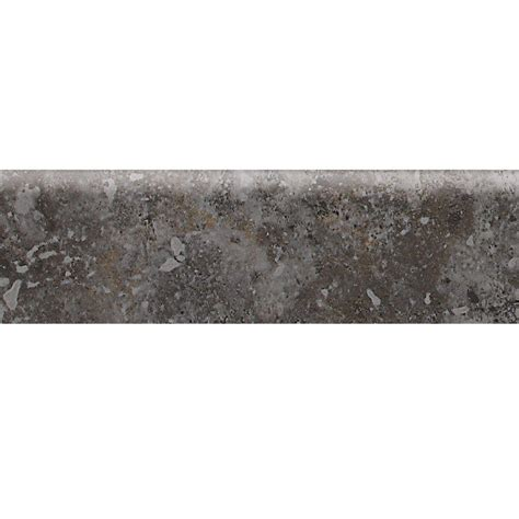 daltile heathland ashland 3 in x 12 in glazed ceramic bullnose floor and wall tile