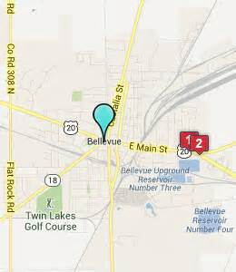 Bellevue Ohio Map by Bellevue Ohio Hotels Amp Motels See All Discounts