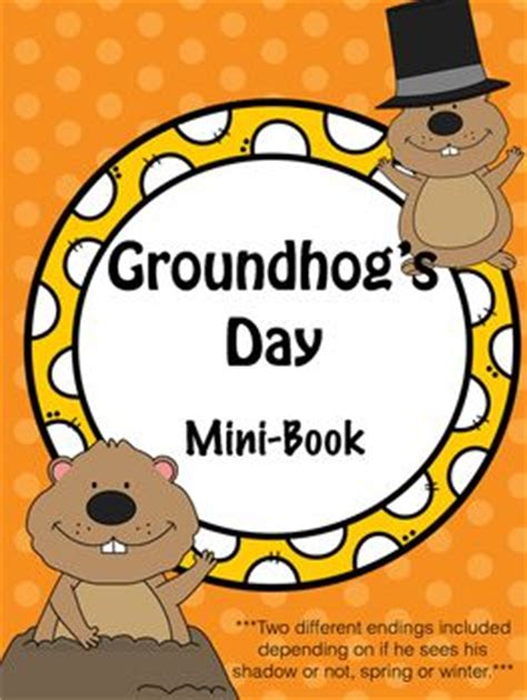 groundhog day you speak groundhog s day mini book groundhog day lakes and copy