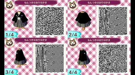 kimono pattern animal crossing animal crossing new leaf qr codes kimono edition