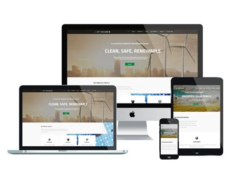 responsive templates for android at solaren solar energy joomla template themes templates