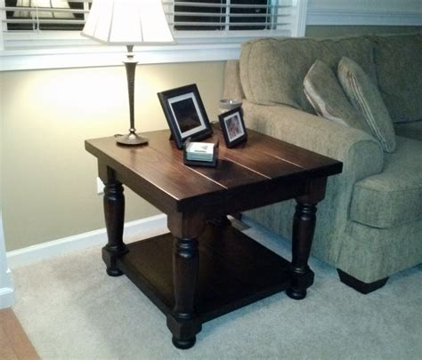 matching coffee and end tables using the heritage table