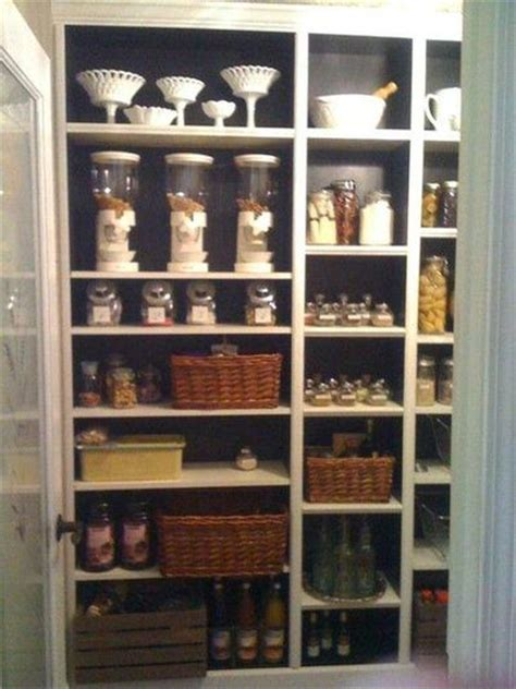 billy bookcases become kitchen storage with some